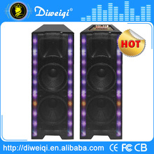 12 inch dual subwoofers with stage mixer for disco
