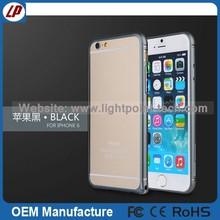 solar power phone case light up phone case aluminum waterproof case for iphone 6