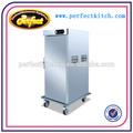 Mobile cibo caldo armadio elettrico/scaldavivande carrello
