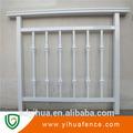 moderno diseño simple balcón barandilla de aluminio