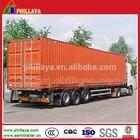 Enclosed Cargo Strong Box Tri-axle Van Semi Trailer