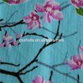 Blusa bordada de veludo
