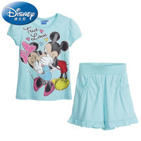 mickey and Minnie children's set with t shirt and shorts