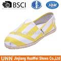 Venta al por mayor los zapatos planos de yute suela alpargatas importados de China