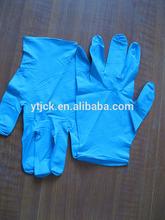 12inch nitrile glove blue color