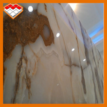2014 hot selling Iran white jade onxy marble