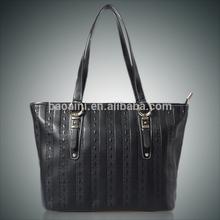 Wholesale Latest fashion genuine leather ladies handbags tote bags