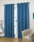 Luxury woven technic suede fabric customized plain color curtain drapery