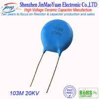 High Precision 20KV103M high voltage Dip ceramic capacitor