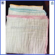 muslin gauze baby blanket/organic baby blanket/cotton muslin baby blanket
