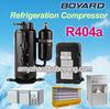 walk in freezer condensing unit with compressor r404a 50hz qxd-16k