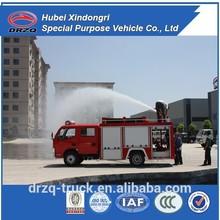 Dongfeng 3000L fire trucks for sale, mini fire truck