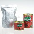 Caliente venta de conservas de pasta de tomate 70g 4500g- regular o de fácil abrir la tapa y doypack