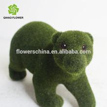 Lovely bear artificial animals,wholesale artificial fiberglass garden animals