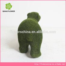 Fake bear toy, artificial grass animals , fake grass animals marking in china