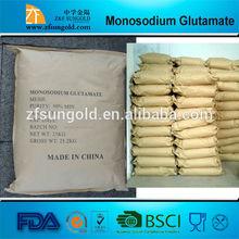 90% 99% monosodium glutamate food Ingredients MSG