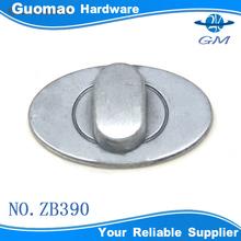 Lock shape zinc alloy handbag hardware clasp