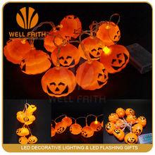 Mini blinking led light with pumpkin shaped