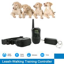 Technology Pet Dog Pulling Shock Dog Walking Training Systen Vibration Dog Walking Controller
