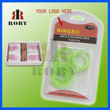 Loose-leaf book circle key ring card buckle snap ring binding plastic circle