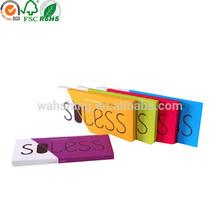 Popular design colorful kraft paper handmade soap packaging