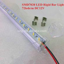 Aluminum SMD7020 Led Rigid Bar 72Leds/m 18W/m (RoHS&CE Approved)