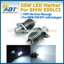 Best price 20w USA CR led angel eye for BMW E90 E91 pre-LCI led head lamp car accessories