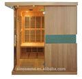 Luxus fernen infrarot sauna& low emf saunahaus für 4 personen für den gewerblichen Einsatz
