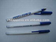 white stick pen