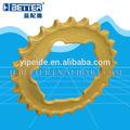 Excavadora de rueda dentada de la llanta, serie de sesiones de grupo, excavadora de forja dientes del piñón