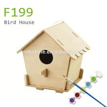 europe DIY wooden bird house