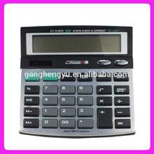 12 digits Electronic desktop solar calculator