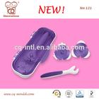 Wholesale Gum Paste Fondant Cupcake Decoration Tools Plastic Fondant Trimmer Set Pattern Embosser