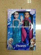 DIHAO Frozen Dolls 2014 wholesale frozen elsa anna doll frozen toys frozen plush doll