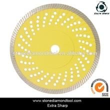 14 inch concrete floor Turbo small diamond saw blade/cutter disc