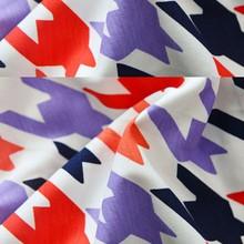 China Wholesale Custom purple african fabric cotton