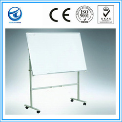 whiteboard with steels for office