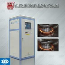 Medium frequency induction heat treatment machine for crankshaft