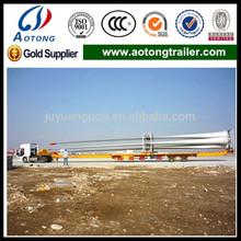2-3 pcs wind blade transport semi trailer