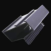Plastic profile PVC window guide rail
