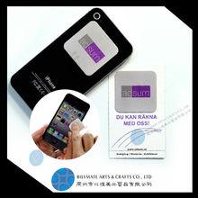 Advertising Custom-make Microfiber Sticky Mobile Phone Screen Cleaner