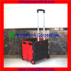2 Wheels Plastic Collapsible Portable Trolley