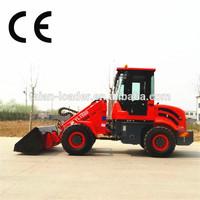 john deere front end loader,small garden tractor loader backhoe,1.5 ton Tl1500 wheel loader CE