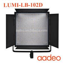 Studio Video Light LED Photo light Adjust Illumination Dimming LED Video Light for DSLR + Remote LB-102D-58W