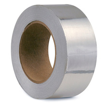 household aluminum foil roll with yellow release liner