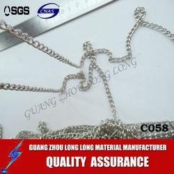 wholesale cheap galvanized metal link chain