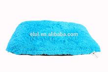 soft coral fleece dog cushion
