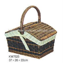 wicker picnic basket,picnic basket