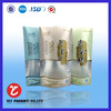 waterproof stand up plastic bag with clear window