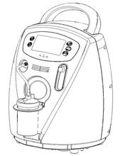 Portable Oxygen concentrator Oxygenerator (685408-ZYJ-3B)